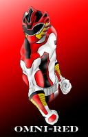 OMNI-RED Ranger by 0PT1C5