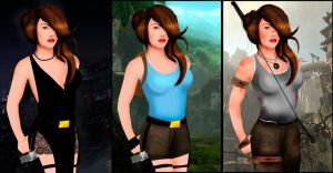 Lara Croft 91 by Orphen5