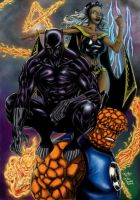 Fantastic Four 2007 by hcaep