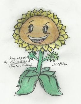 Sunflower-PvZGW by CrazyPlantMae