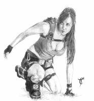 Lara Croft by Tom-67