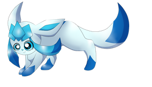 glaceon journal skin by snowflake95