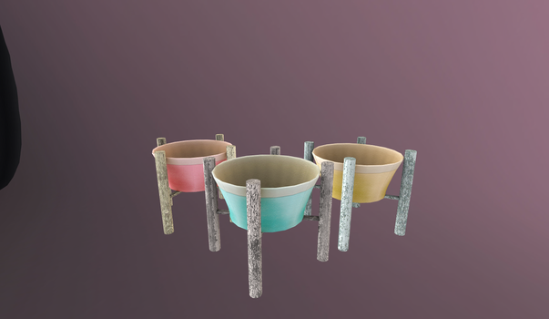 3D Planters by RevRuby