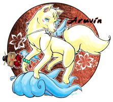 Aruvin the Dragon Dog. by thekitty
