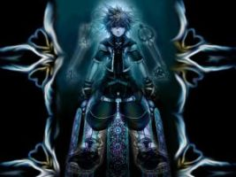 Dark Sora by PureBlood4Meh