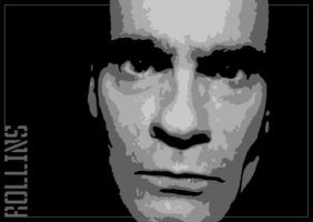 Henry Rollins - Digital prep by Artby2Heads