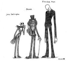 Long legs and slender men by heivais