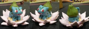 Bulbasaur Lotus by ChibiSilverWings