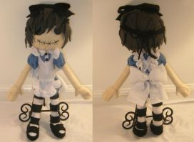 Ciel in Wonderland Plushie by Chocolate-Shinigami