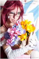 Hey sweety, grell likes you by shua-cosplay