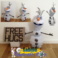 Olaf Papercraft Official Pic + Release Date by Sabi996