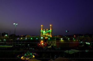The Holy Shrine of Al Abbas (as), Karbala, Iraq by kpanna