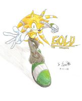 request-Gold the Hedgehog by InYuJi