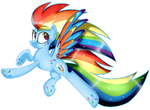 RP- Rainbow Dash by xSarcelle