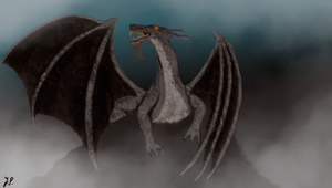 Speedpaint Challenge: Dragon by A-Pancake