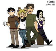 Protagonists October 2012 by Jacob-R-Goulden