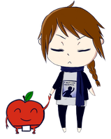 Me and Mr.Apple ID by feelthispen