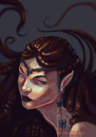 Elf with an Earring by pauscorpi