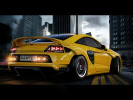Mitsubishi Eclipse street by themjdesign
