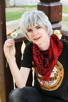 Hetalia - Prussia Cosplay by xVIDx