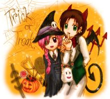 Happy Halloween by fireychronicles