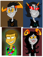 Homestuck- Trolls and Andrew Hussie by SheDraws4U12