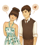 500 days of Summer by kimpertinent