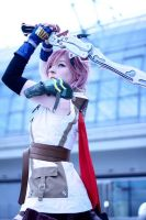 Lightning Cosplay - Strength is a gift by Kawaii-Kioko