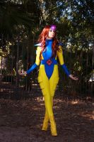 Jean Grey 90s X-Men Cosplay by Uncanny Megan by firecloak
