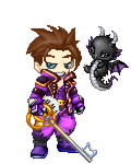 KM purple ensemble with blade and Mir by MrKeybladeMaster1992