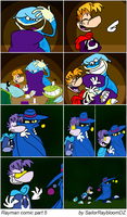 Rayman copy comic by Weretoons101