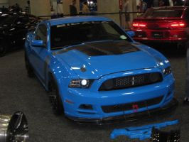 Ford Mustang Light Blue by granturismomh