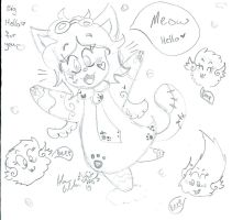 Miss Kitty flying beeping fuzzballs hello scri by Kittychan2005