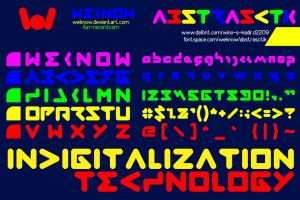 abstrasctikfont_byweknow by weknow
