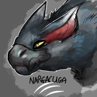 cool panther dragon dude by nitrocanis