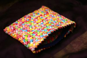 Starburst wrappers purse by HuajunChen