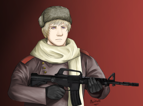 Soldier by Riuko-chan