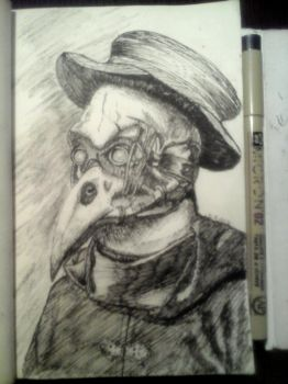 Plague Doctor by ciprian318