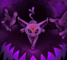 Espeon by mondays-noon