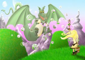 Another Way To Train Your Dragon by FROG-and-TOAD