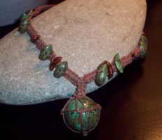 Green Orb Pendant by Sherio88