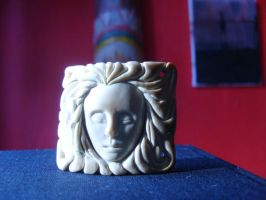Mammoth ivory carving. by indigartistic