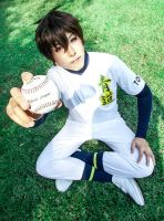 Eijun Sawamura(Ace of Diamond) cosplay by Reveninth