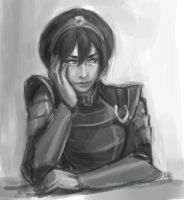 scrap. chief beifong I by kiikii-sempai