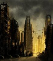 Lost City - Speedpaint 005 by CAS12