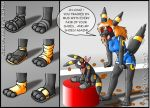 Chaz's Shoe Problem by tydrian