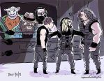Wyatt-Family-vs-The-Shield-EliminationChamber- by JonDavidGuerra
