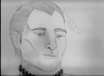 Daily Sketch - Varric by Shaleene1