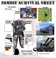 Zombie Survival Sheet by DynamiteManEXE