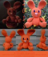 Easter Bunny by crochetamommy